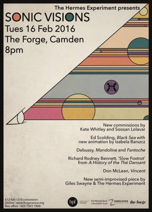 The Hermes Experiment - 'Sonic Visions' @ The Forge, 16th February 2016