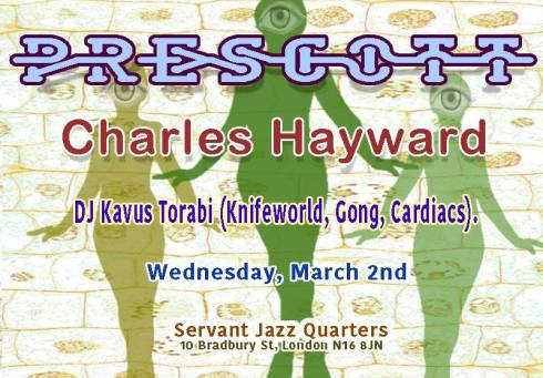 Prescott/Charles Hayward @ Servant Jazz Quarters, 1st March 2016