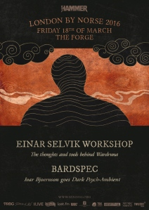 Einar Selvik/BardSpec Workshop, 18th March 2016