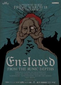 Enslaved 25, night 2, 18th March 2016
