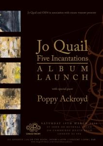 Jo Quail + Poppy Aykroyd, 19th March 2016