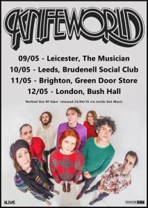 Knifeworld English tour, May 2016