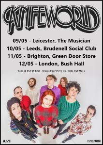 Knifeworld English tour, May 2016