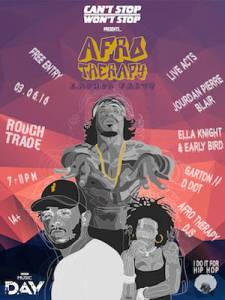 Afro Therapy, 3rd June 2016