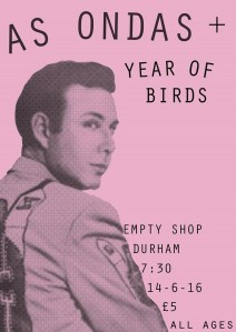 As Ondas/Year Of Birds, 14th June 2016