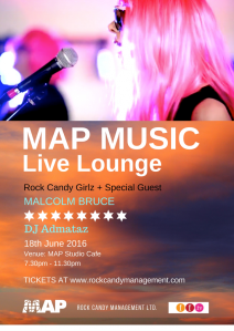 MAP Live Lounge, 18th June 2016