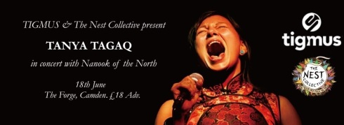 Tanya Tagaq @ The Forge, 18th June 2016