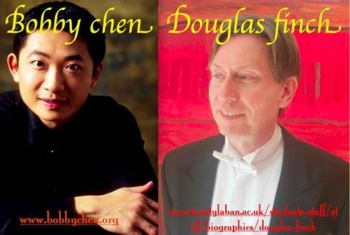 Bobby Chen & Douglas Finch, Reform Club, 29th June 2016