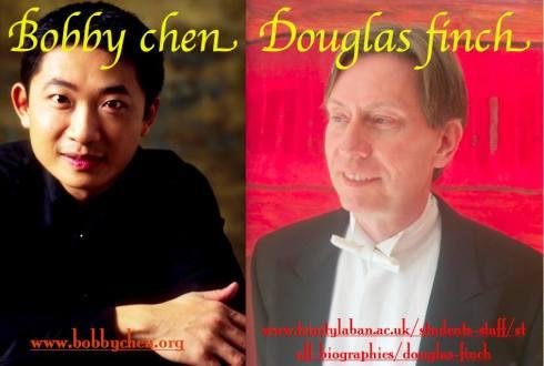 Bobby Chen & Douglas Finch, Reform Club, 29th June 2016