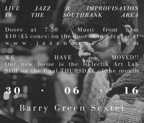 Jazz Nursery, 30th June 2016