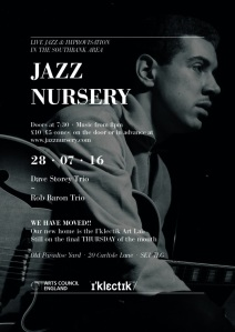 Jazz Nursery, 28th July 2016