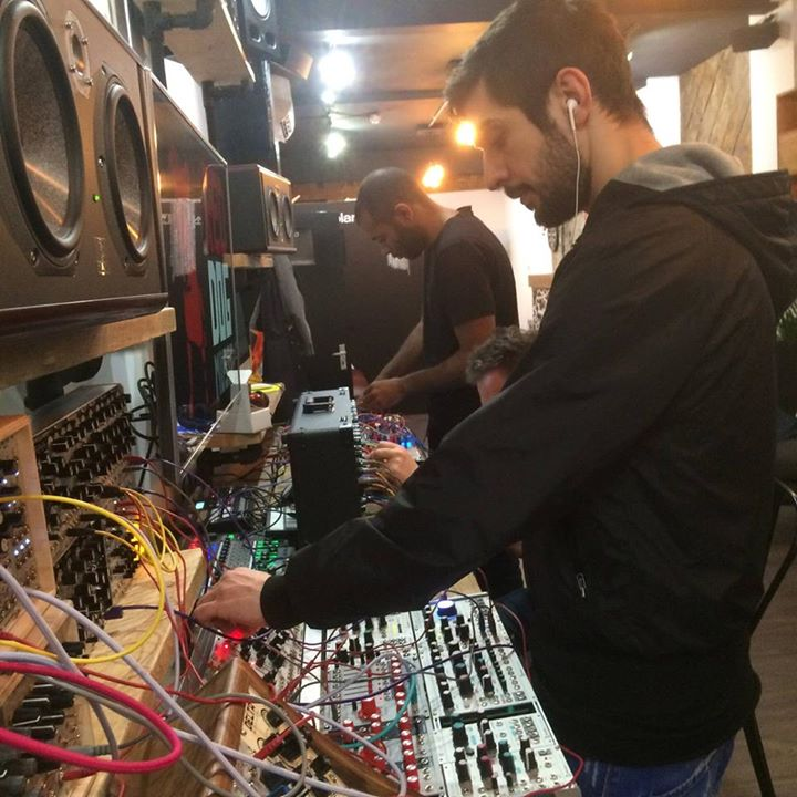 July 2016 – upcoming London gigs – CV FREQS modular synth