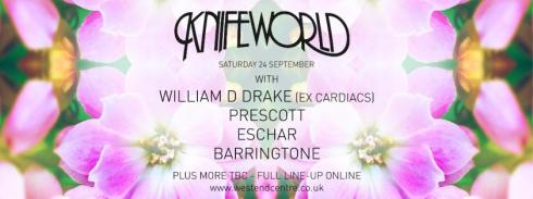 Knifeworld all-dayer, Aldershot, 24th September 2016