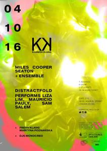 Kammer Klang, 4th October 2016
