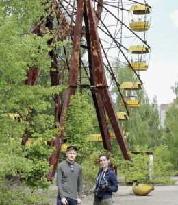 Still from 'Birdsong' (Pripyat ferris wheel)