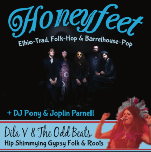 Honeyfeet + Dila V & The Odd Beats, 8th October 2016