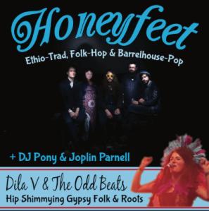 Honeyfeet + Dila V & The Odd Beats, 8th October 2016
