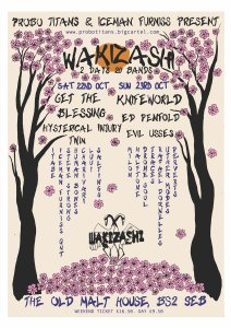Wakizashi Festival, Bristol, 22nd & 23rd October 2016