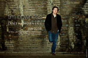 iamthemorning & Tim Bowness, 12th-18th November 2016