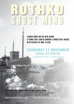 Rothko + Ghost Mind, 17th November 2016