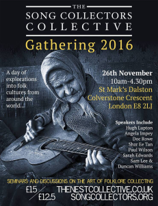 The Song Collectors Collective Gathering, 2016