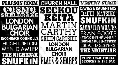 Unamplifire lineup, 2016