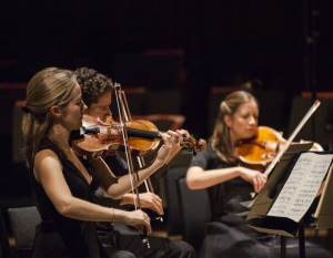 Philharmonia Orchestra chamber players (photo © Marina Vidor)