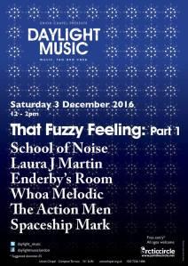 That Fuzzy Feeling, Part 1, 3rd December 2016