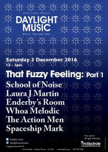 That Fuzzy Feeling, Part 1, 3rd December 2016