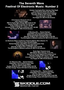 Seventh Wave Festival of Electronic Music 2, March 2017
