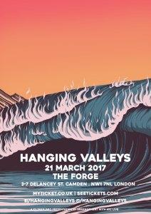 Hanging Valleys + Swan Levitt, 21st March 2017
