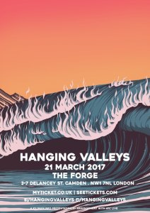 Hanging Valleys + Swan Levitt, 21st March 2017