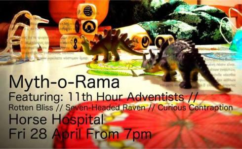 Myth-O-Rama, 28th April 2017