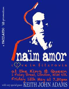 Naïm Amor + Keith John Adams, 12th May 2017