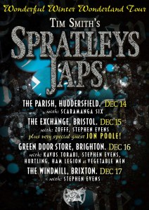 Spratleys Japs, 14th-17th December 2017