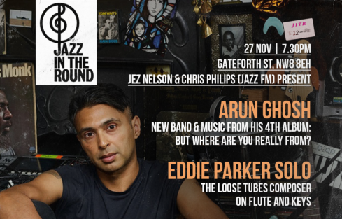Jazz in the Round, 27th November 2017