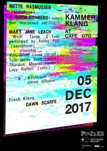 Kammer Klang, 5th December 2017
