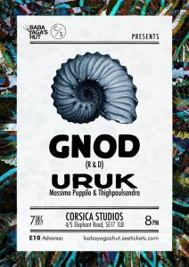 Gnod + Uruk, 7th December 2017