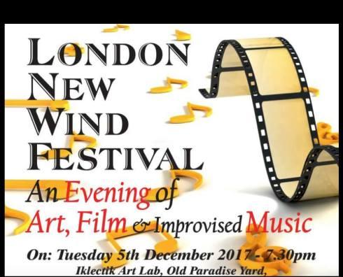 London Wind Festival, 5th December 2017