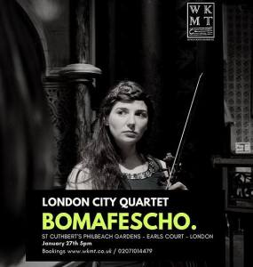 London City Quartet, 27th January 2018