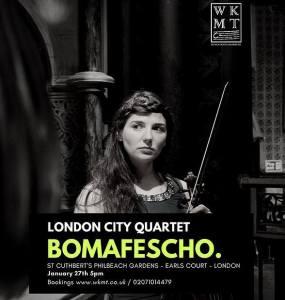 London City Quartet, 27th January 2018