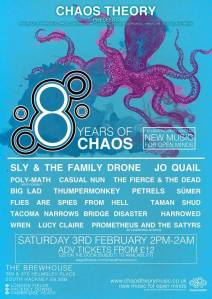 8 Years of Chaos, 3rd February 2018