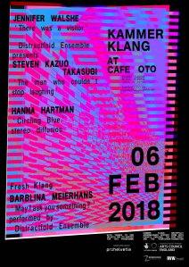 Kammer Klang, 6th February 2018