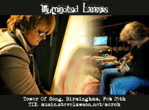 Steve Lawson & Poppy Porter - 'Illuminated Loop', 25th February 2018