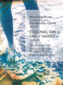 Colonial Sun + Mally Harpaz + others, 7th March 2018