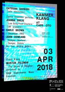 Kammer Klang, 3rd April 2018