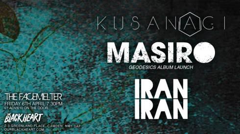 Kusanagi + Masiro + Iran Iran, 6th April 2018