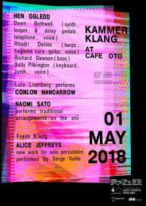 Kammer Klang, 1st May 2018