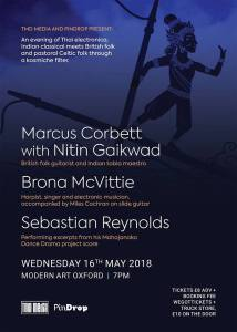 Marcus Corbett + Brona McVittie + Sebastian Reynolds, 16th May 2018