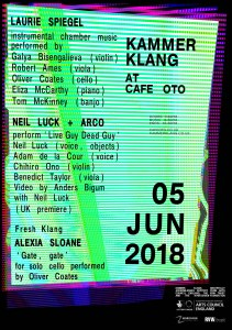 Kammer Klang, 5th June 2018